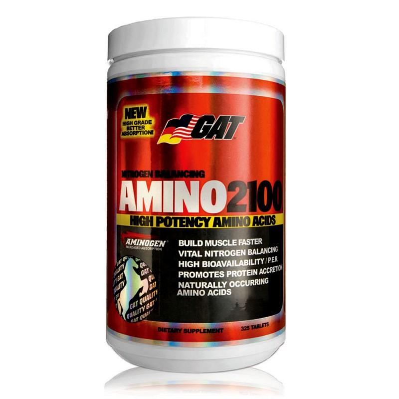 Amino 2100 GAT suplemen obat fitnes amino untuk otot kuat dan besar