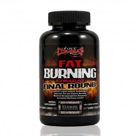 Fat Burning Combat Final Round 120 liquid caps Ultimate Nutrition