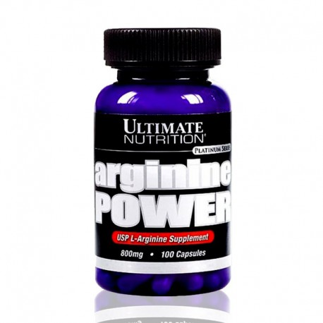 Arginine Power 800mg, 100 caps Ultimate Nutrition