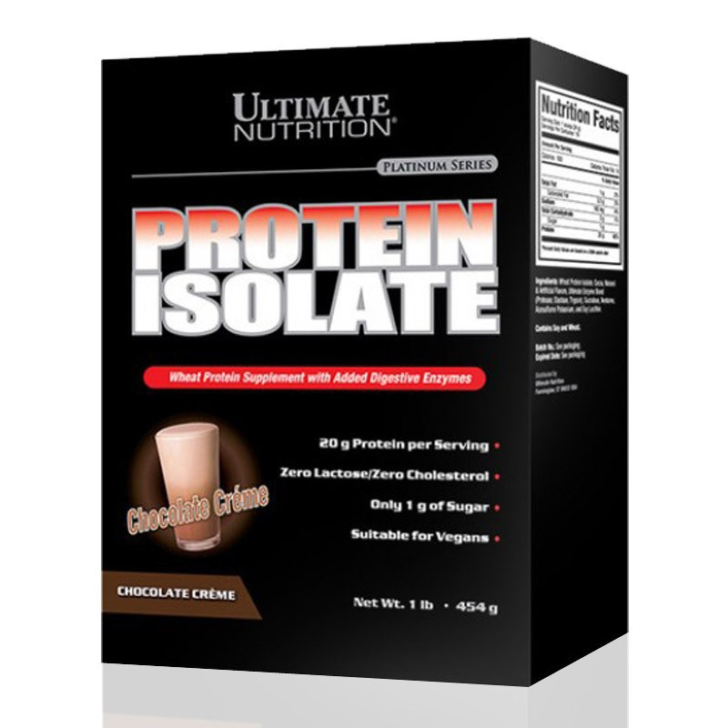 Protein Isolate Ultimate Nutrition :suplemen/susu fitness ...