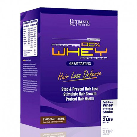 Prostar 100% Whey Protein 2 lb (Hair Loss Defense) Ultimate Nutrition