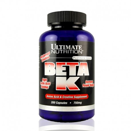 Beta-K 750mg, 200 caps Ultimate Nutrition