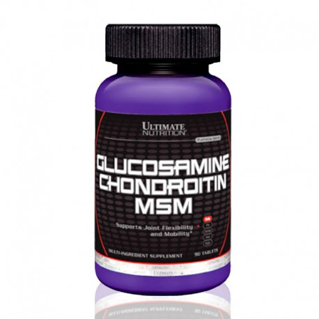 Glucosamine, Chondroitin & MSM 90 tabs Ultimate Nutrition