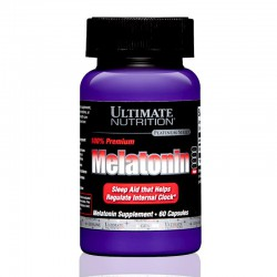 Melatonin 3 mg, 60 caps Ultimate Nutrition