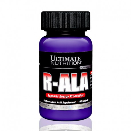 R-ALA 100 softgels Ultimate Nutrition