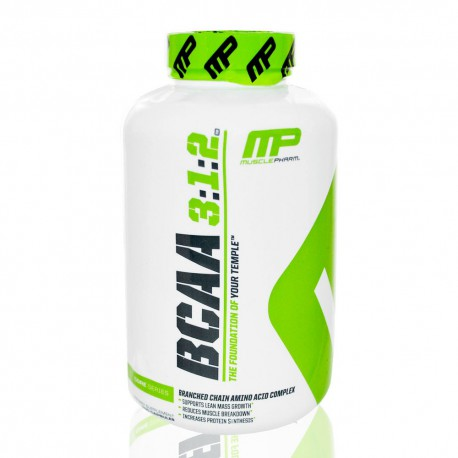 BCAA 3:2:1 240 caps Muscle Pharm (MP)