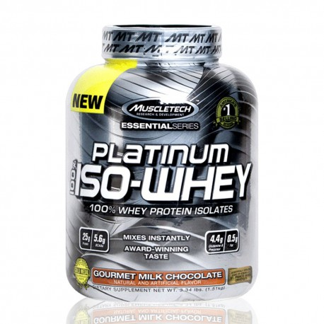 Platinum Iso Whey 3.34 lb MuscleTech