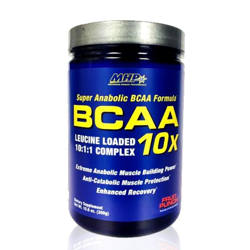 BCAA 10x MHP suplemen susu fitnes amino bangun otot bakar lemak