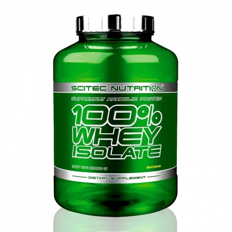 100% Whey Isolate 4.4 lbs