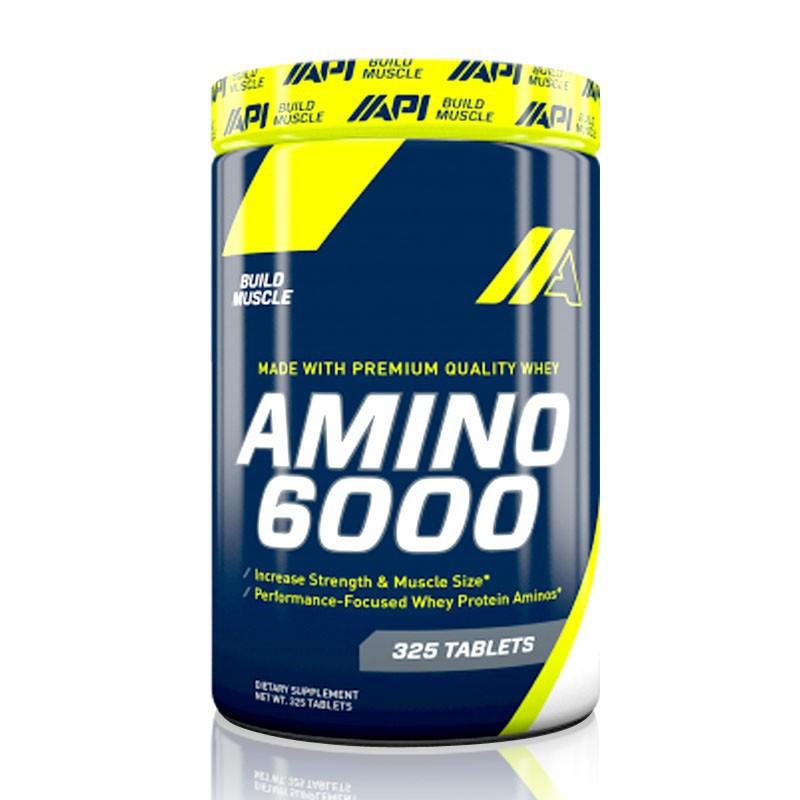 Amino 6000 API suplemen obat fitnes amino untuk memperbesar otot