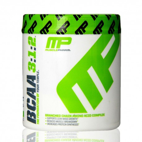 BCAA 3:2:1 0.5 lb powder Muscle Pharm (MP)