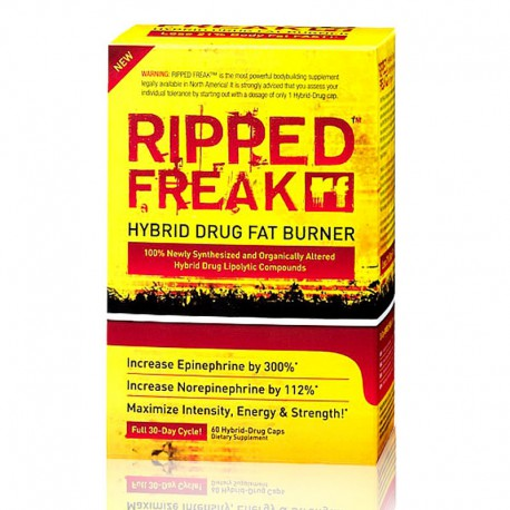 Ripped Freak Hybrid Drug Fat Burner PharmaFreak