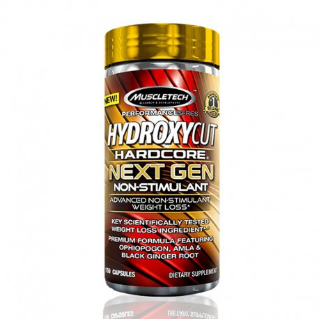 Hydroxycut Hardcore Next Gen Non-Stimulant MuscleTech