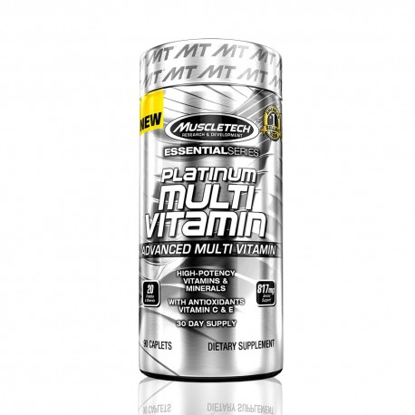 Platinum Multivitamin 90 caps MuscleTech