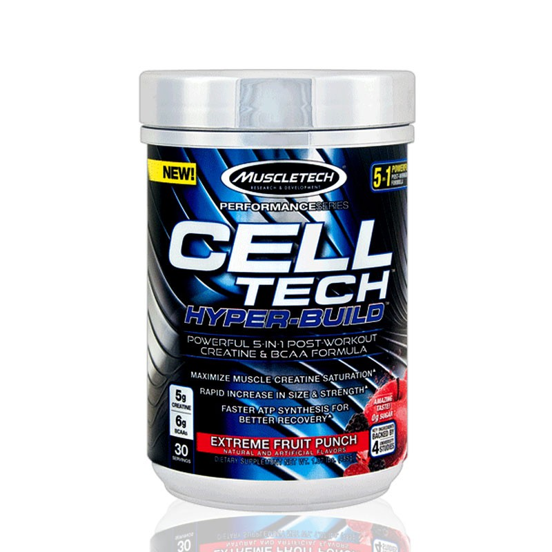 Cell Tech Hyper Build Muscletech Suplemen Susu Fitnes