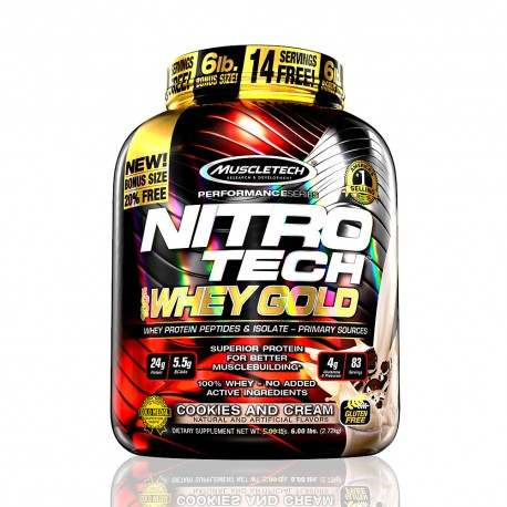 Nitro-Tech Whey Gold MuscleTech