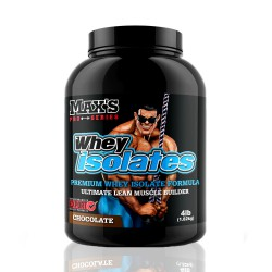 Max's Whey Isolate Pro-Series