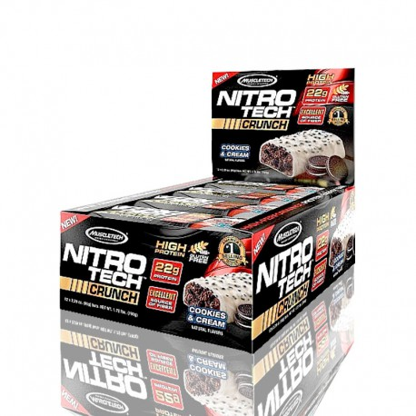 Nitro-Tech Crunch Bar MuscleTech