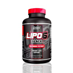 Lipo 6 Black 60 caps Maximum Potency Nutrex
