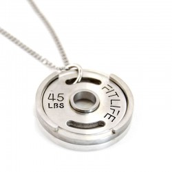 FITLIFE Weight Plate Necklace