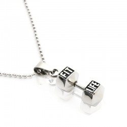 FITLIFE Dumbbell Necklace