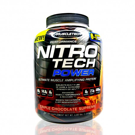 Nitro Tech Power 4 lb MuscleTech