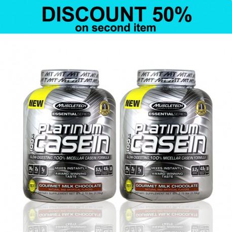 Double Platinum 100% Casein MuscleTech
