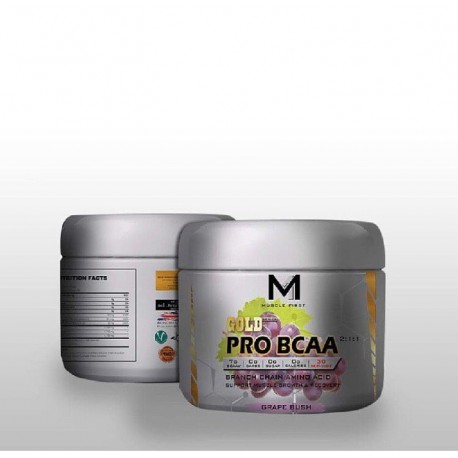 M1 Muscle First Pro Gold BCAA 300 Gram
