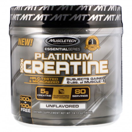 Platinum Creatine 400 g MuscleTech