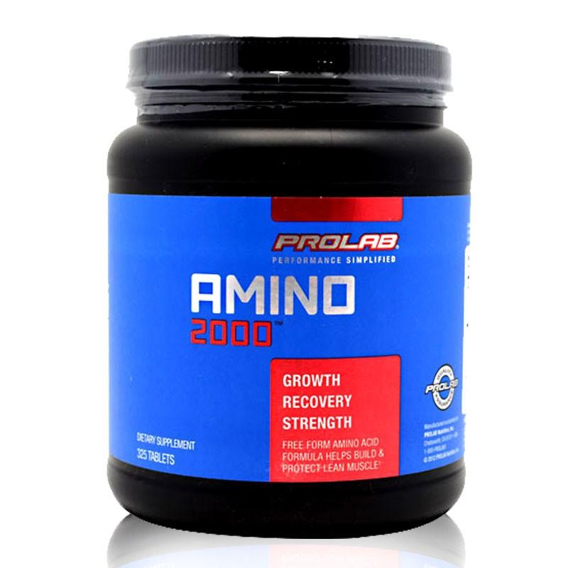 Amino 2000 Prolab suplemen obat fitnes amino untuk otot kering
