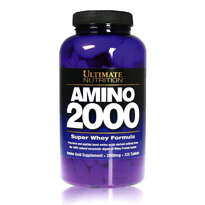 Amino 2000 Ultimate Nutrition suplemen amino untuk otot padat kering